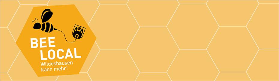 Logo der Biene - BEE local: Wildeshausen kann mehr!